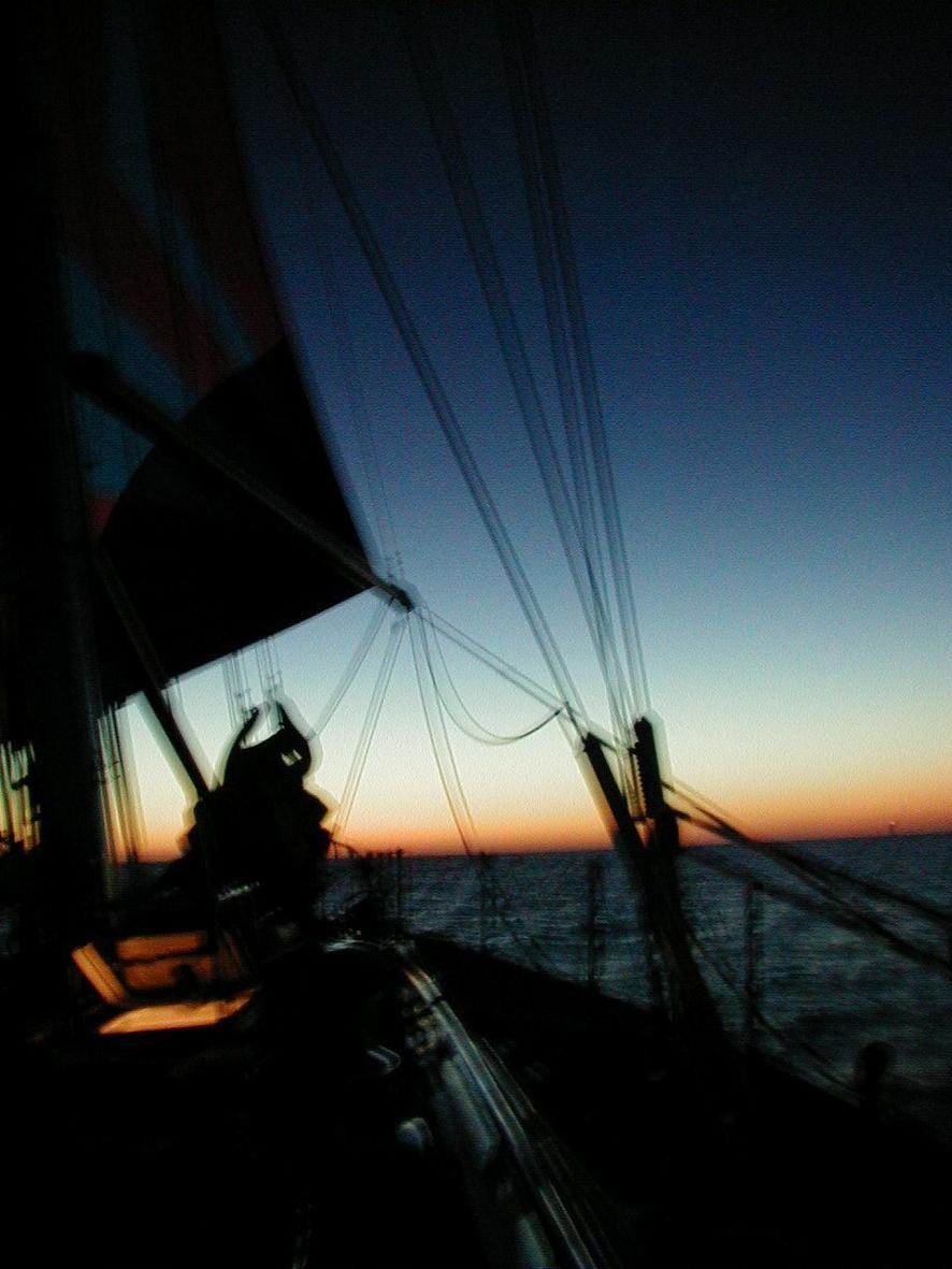 blurr-deck-sunset