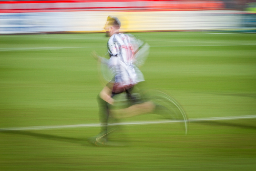 The Shortbread Shed-football motionblur9